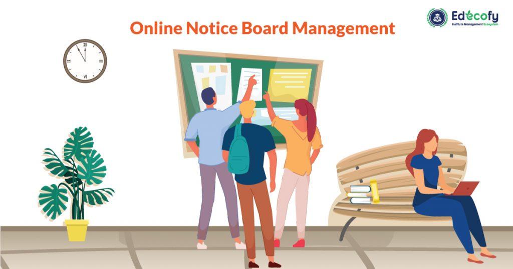 Online Institute Notice Management