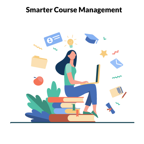 Course Management System from Educational ERP Software
