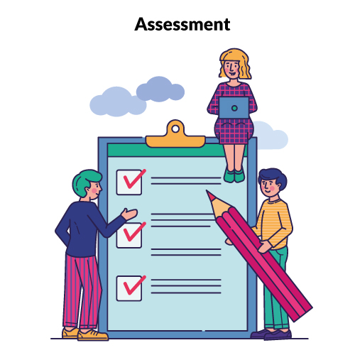 Online Assessment from School ERP System